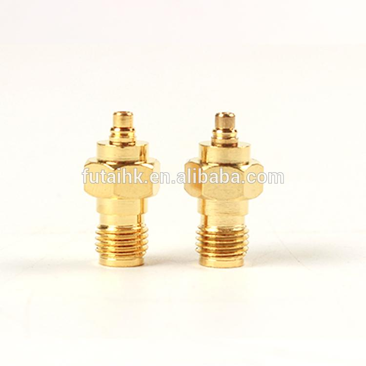 RF Coaxial SMA Female to MMCX Male Adapter  4