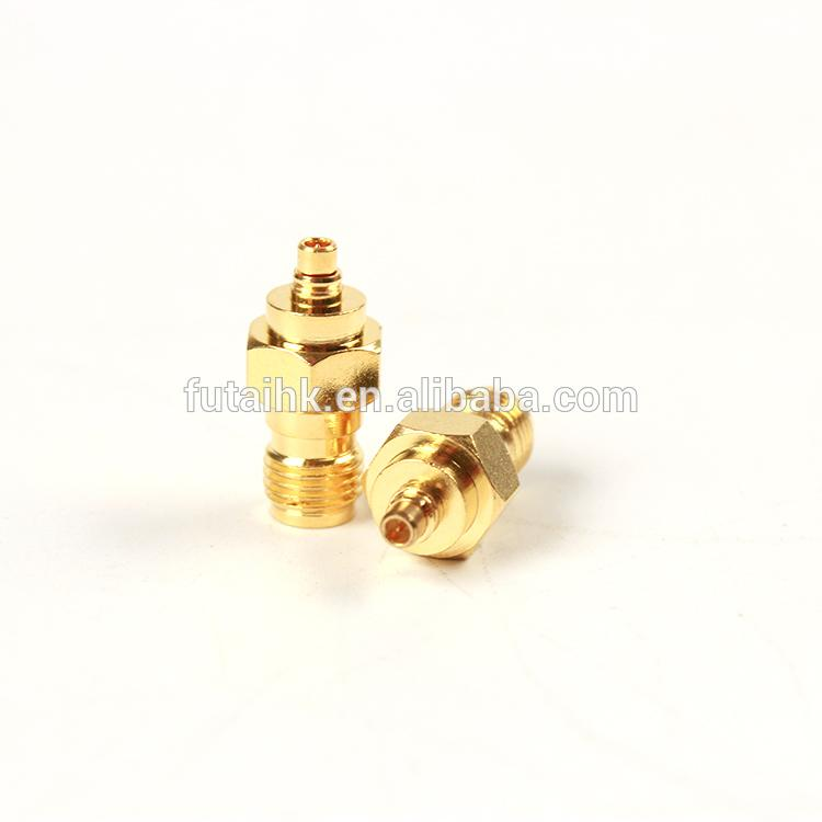 RF Coaxial SMA Female to MMCX Male Adapter  5