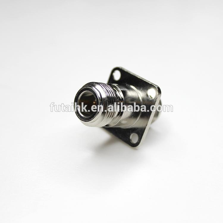 Excellent Performance N Female to N Female with Flange Mount Adapter  5
