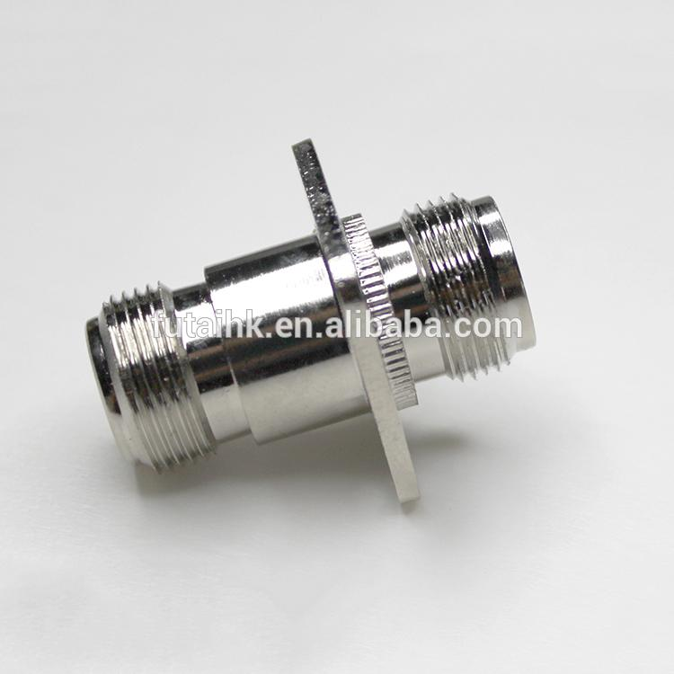 Excellent Performance N Female to N Female with Flange Mount Adapter  6