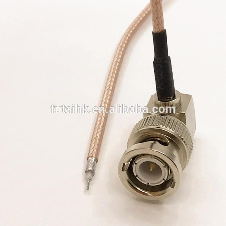 Strip BNC Male Right Angle Cable  2