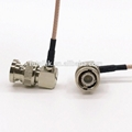 Strip BNC Male Right Angle Cable  5