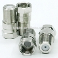 RF Coaxial F Male to F Female Adapter  3