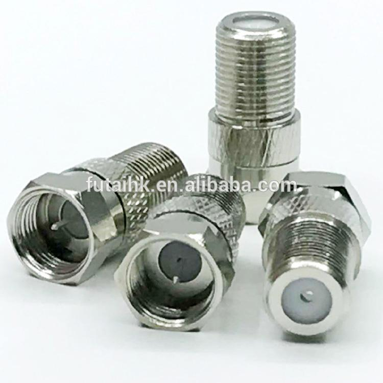 RF Coaxial F Male to F Female Adapter  4