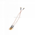 SMA Female to MCX Male Right Angle Cable