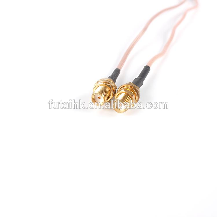 SMA Female to MCX Male Right Angle Cable  3