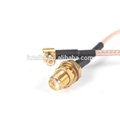 SMA Female to MCX Male Right Angle Cable  4