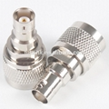 N Male to BNC Female RF Coaxial Adapter
