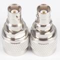 N Male to BNC Female RF Coaxial Adapter
