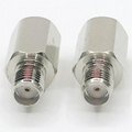 High Quality RF Coaxial 50 ohm FME Male to SMA Adapter