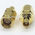 SMA Male to MCX Female Adapter