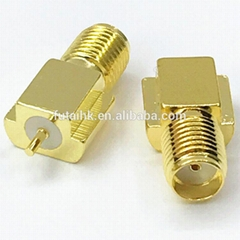 SMA Female PCB Connector