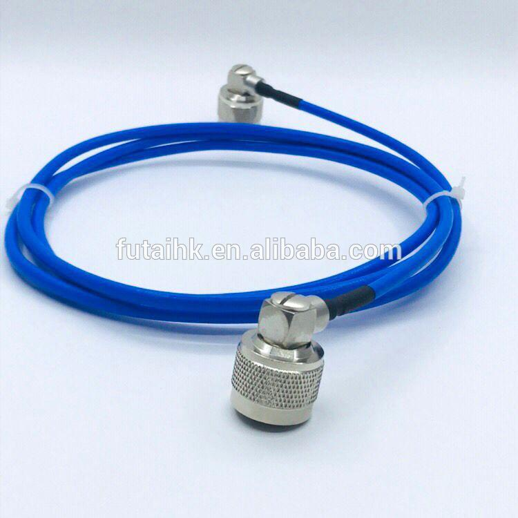 N Male Right Angle to N Male Connector with RG141 Cable  1