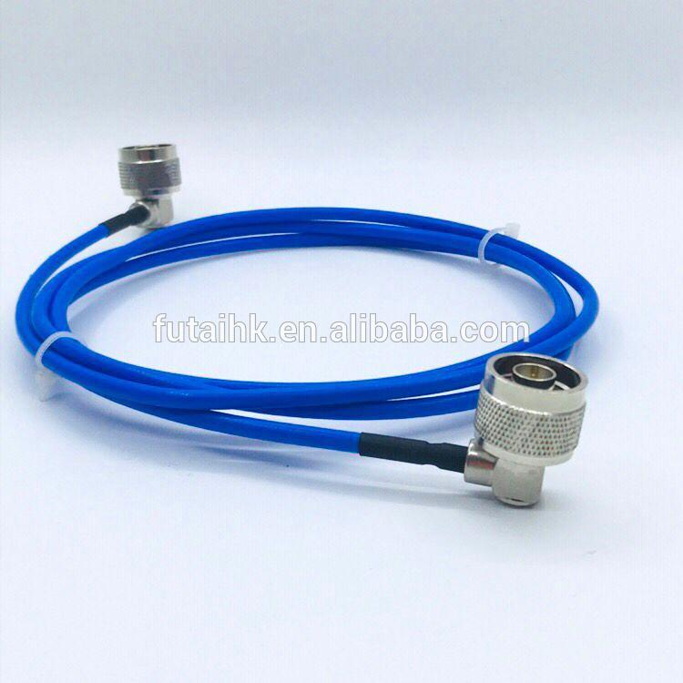 N Male Right Angle to N Male Connector with RG141 Cable  5