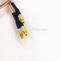 Factory Price MMCX Male Right Angle to MMCX Male Interface Cable