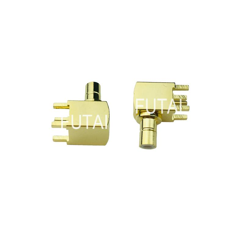 SMB Female Right Angle Connector for PCB 1
