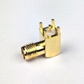 RF Coaxial SMA Female Right Angle PCB connector