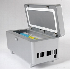 Diabetes travel kit  product Medical mini refrigerator,with 16,5hrs battery