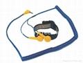 PU Dual Sliver Yarn Wrist Strap DR-80