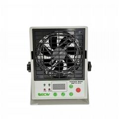 CE直流无尘室用低臭氧自动清洁离子平衡度显示离子风机