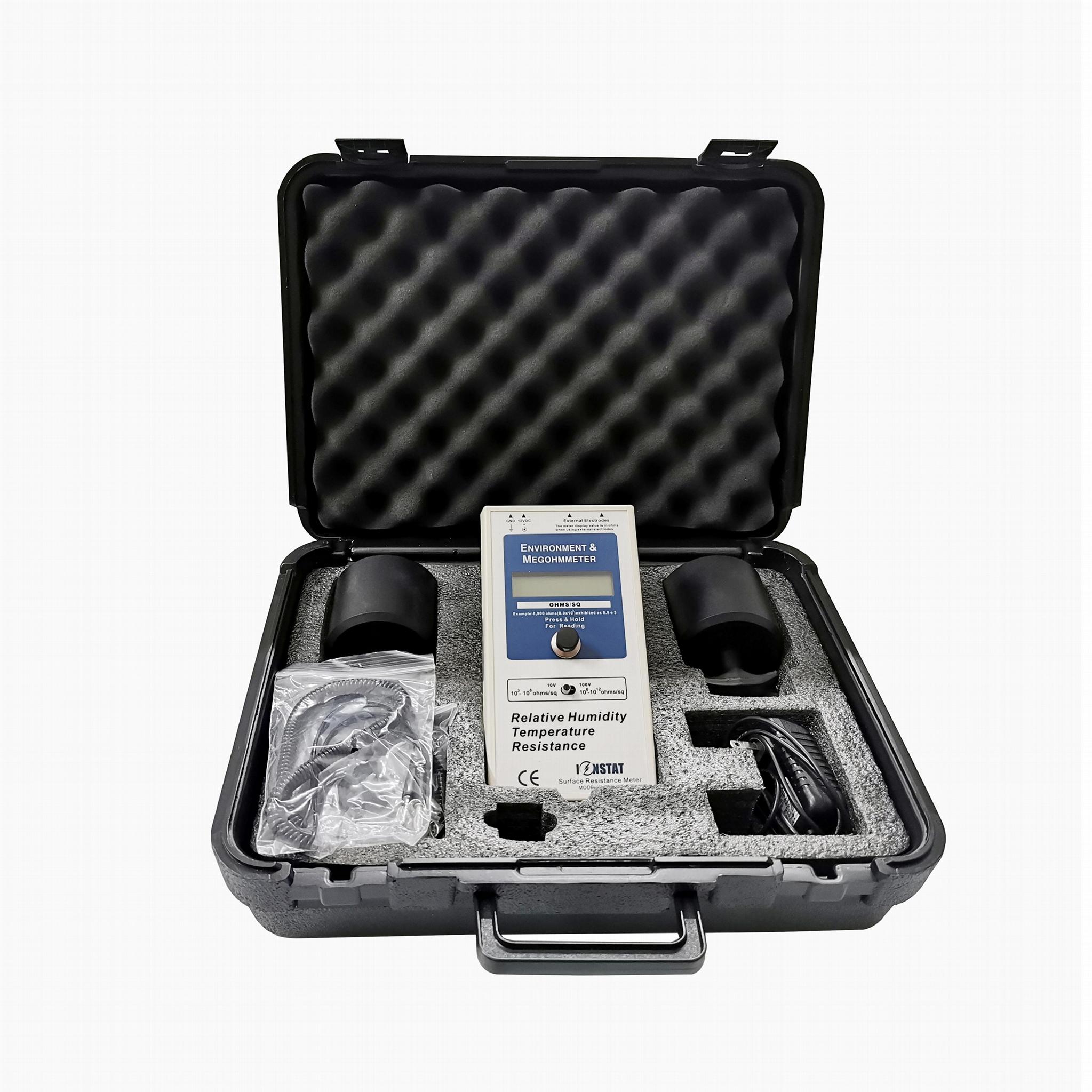 CE Approved SJC-030B E-HST002 Hammer type Surface resistance meter 2