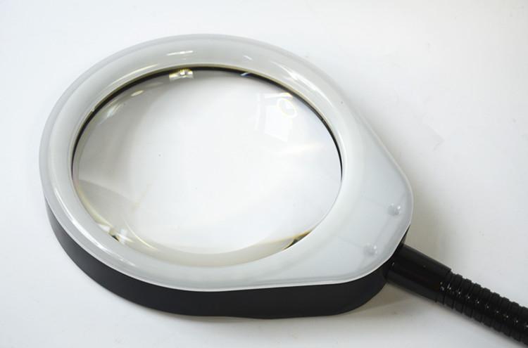 防静电台夹式放大镜带LED多功能维修工作台灯 4