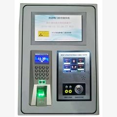 智能人臉指紋識別門禁系統打卡機