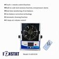 NEW Remote Control smart auto clean ion balance monitor ionizer blower 1