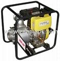 4寸柴油污水泵排污泵