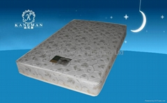 promotional continuous spring mattress for hotel