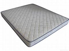 compressed spring mattress sizes