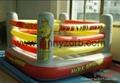inflatable Hulkamania Wrestling Ring