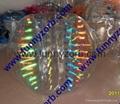 glow bumper ball/colour inflatable crash