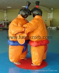 inflatable sumo suits/infaltable
