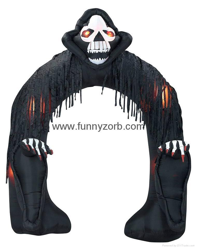Halloween inflatable decorations 1