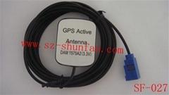GPS Antenna FAKRA SMB 汽車GPS天線