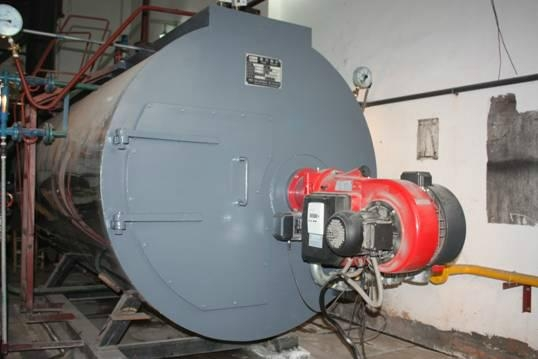 Fire tube Natural gas fired 4 ton steam boiler