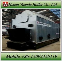 Coal fired 6 ton steam boiler