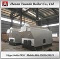 4 Ton wood fired steam boiler