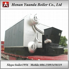 Industrial Biomass fired steam boiler