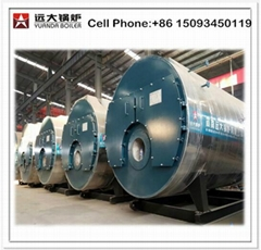 Fire tube Natural gas fired 4 ton steam boiler
