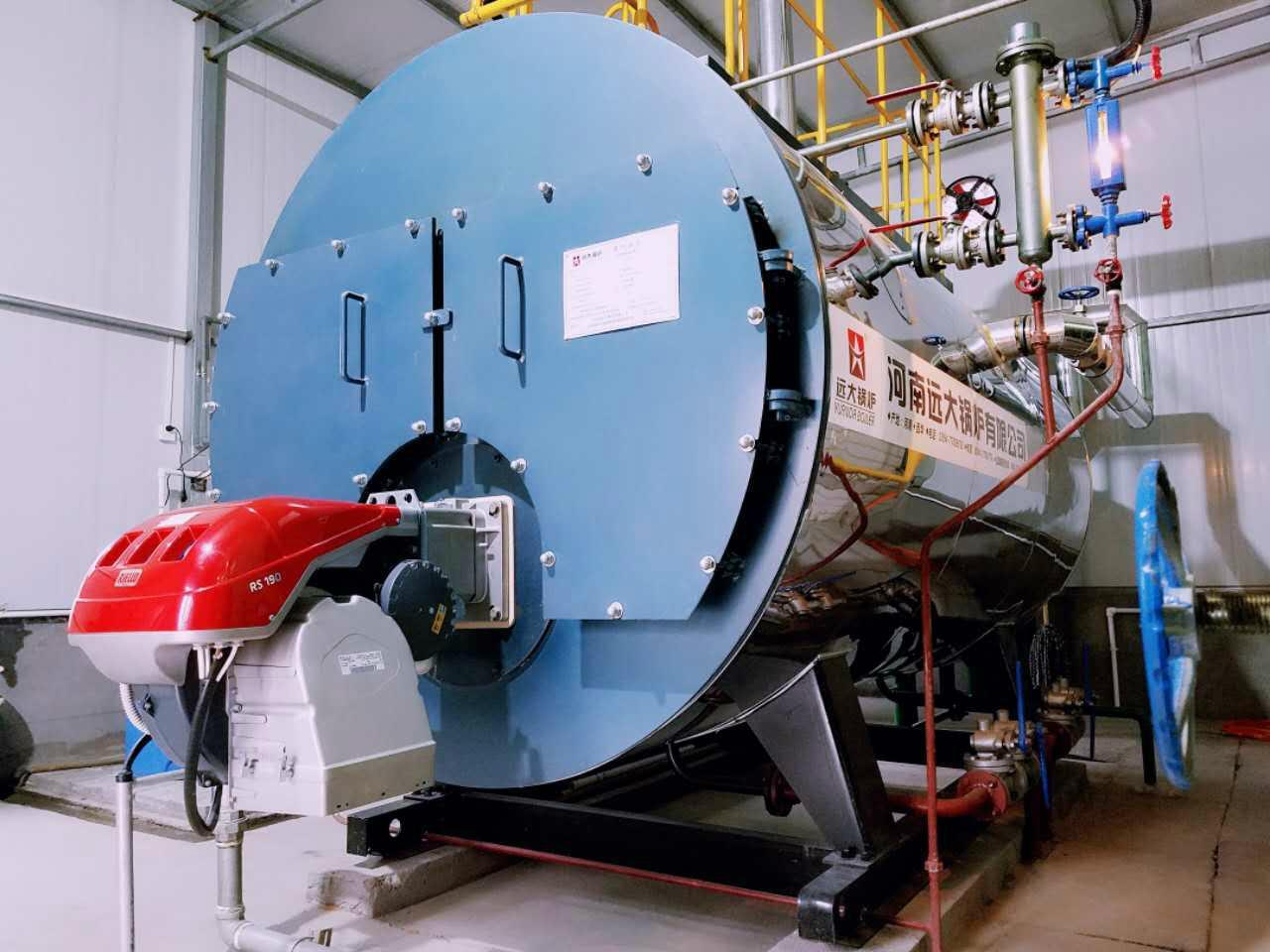 1 ton oil fired steam boiler - WNS1-1.0-Y - Yuanda Boiler (China ...
