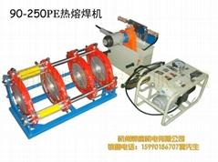 Hydraulic pressure butt-fusion welding machine