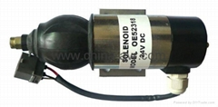 Perkins Fuel Shutdown Solenoid OE52318