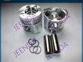 4TNV98 Engine Piston Ring Set 129907-22050 For Excavator