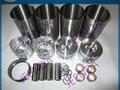 Exhaust valve 129907-11110 for 4TNV94