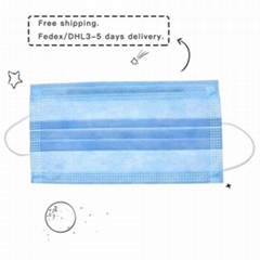 Filter Mask Maschere – 3-Ply Disposable Face Mask Dust Mask