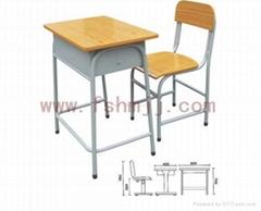 學生鋼木課桌椅