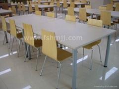 員工餐桌椅