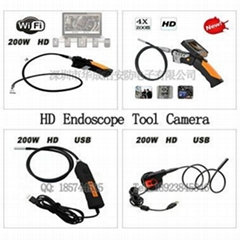 HD 720P WIFI Wireless Endoscope DVR Record video pictures